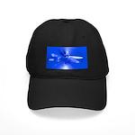 Blue Dragonfly Black Cap