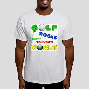 Golf Rocks Taliyah's World - Light T-Shirt