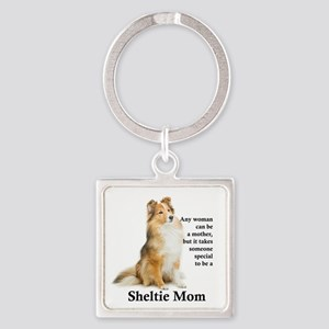 Sheltie Mom Keychains