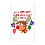 Christmas I want my Coastie Mini Poster Print