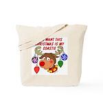 Christmas I want my Coastie Tote Bag