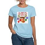 Christmas I want my Coastie Women's Light T-Shirt