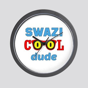 Swazi Cool Dude Wall Clock