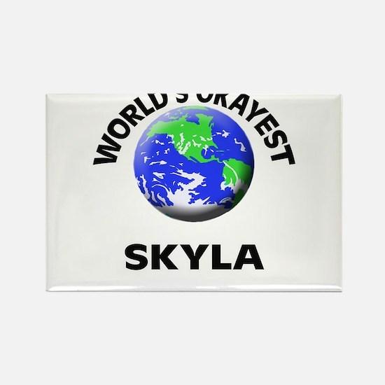 World's Okayest Skyla Magnets