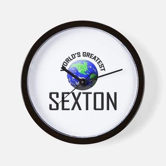 World's Greatest SEXTON Wall Clock