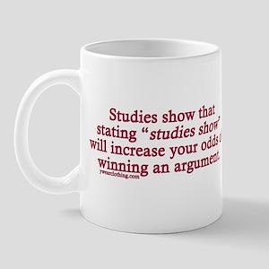 Studies Show Mug