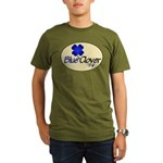 Blue Clover Tv Logo Oval Orgnc Men's T-Shirt (