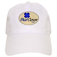 Blue Clover Tv Logo On Oval - Baseball Cap