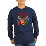 Christmas I want my Marine Long Sleeve Dark T-Shir
