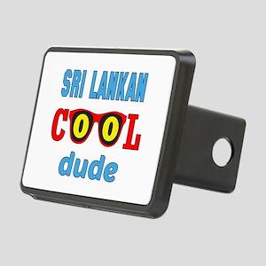 Sri Lankan Cool Dude Rectangular Hitch Cover
