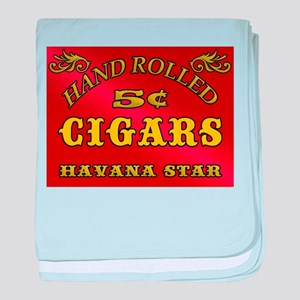 Hand Rolled Cigars 5 cents baby blanket