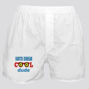 South Korean Cool Dude Boxer Shorts
