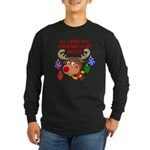 Christmas I want my Soldier Long Sleeve Dark T-Shi