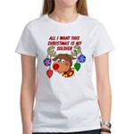 Christmas I want my Soldier Women's T-Shirt