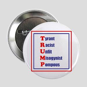Trump, tyrant, racist, unfit, misogynist, pompous