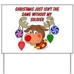 Christmas without my Soldier Yard Sign