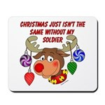 Christmas without my Soldier Mousepad