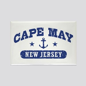 Cape May NJ Rectangle Magnet