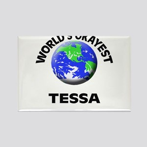 World's Okayest Tessa Magnets