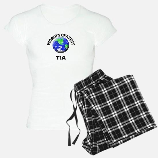World's Okayest Tia Pajamas
