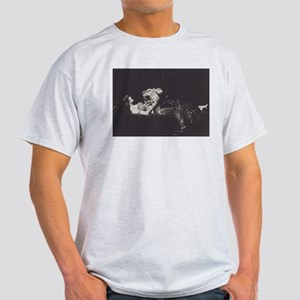 The Lady and the Lion Ash Grey T-Shirt