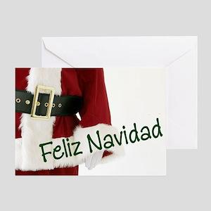 Spanish Santa Greeting Card
