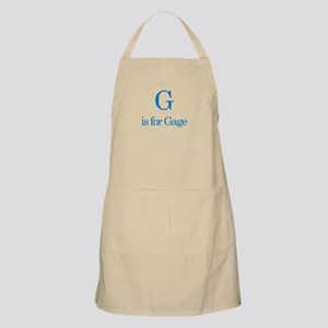 G is for Gage BBQ Apron