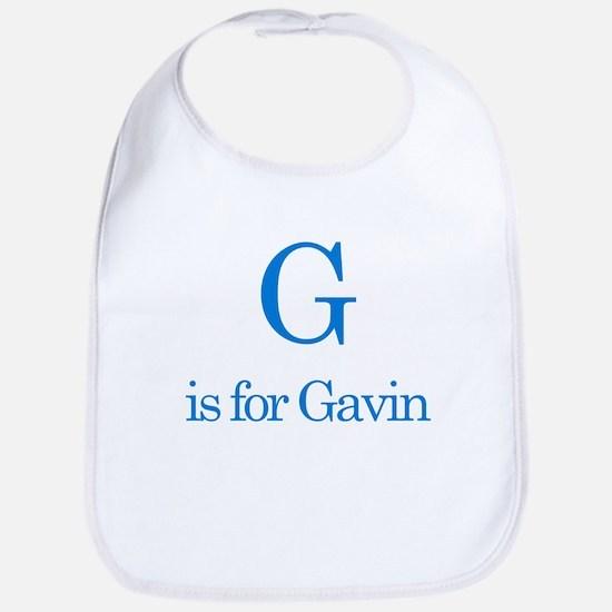 G is for Gavin Bib