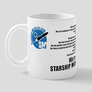 We Are StarshipModeler.com Mug