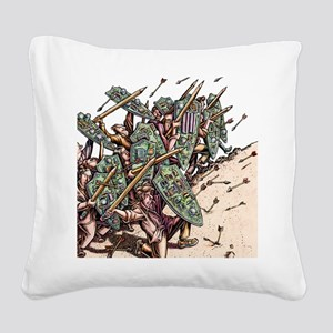 Internet Security Warriors Square Canvas Pillow