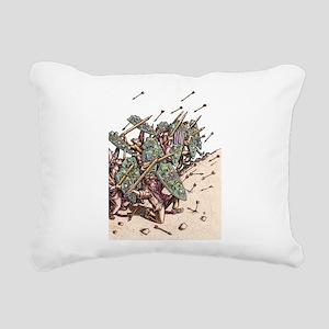 Internet Security Warrio Rectangular Canvas Pillow