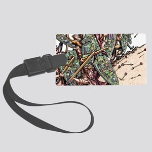 Internet Security Warriors Large Luggage Tag