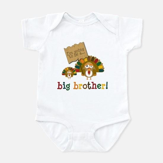 little turkey brother Infant Bodysuit