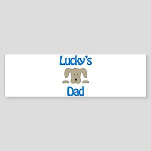 Lucky's Dad Bumper Sticker