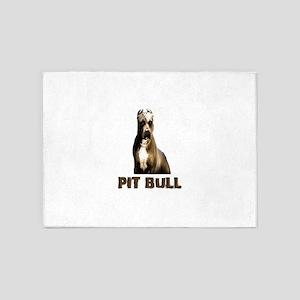 Pitbull 5'x7'Area Rug