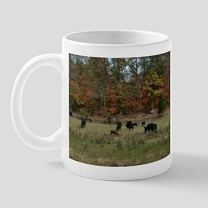 Fall Angus Mug