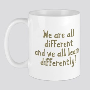 We're all Different Mug
