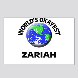 World's Okayest Zariah Postcards (Package of 8)
