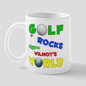 Golf Rocks Wilmot's World - Mug