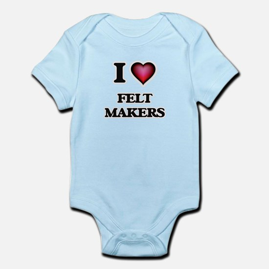 I love Felt Makers Body Suit