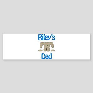 Riley's Dad Bumper Sticker