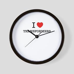 I Love TRANSFORMERS Wall Clock