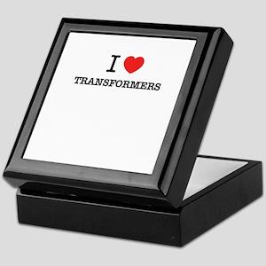 I Love TRANSFORMERS Keepsake Box