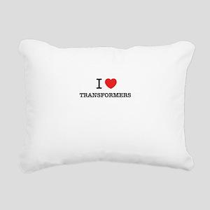 I Love TRANSFORMERS Rectangular Canvas Pillow