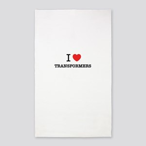 I Love TRANSFORMERS Area Rug