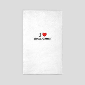 I Love TRANSFORMER Area Rug