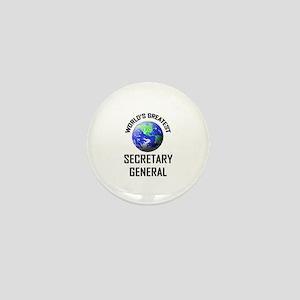 World's Greatest SECRETARY GENERAL Mini Button