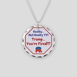 Reality, Anti Trump, Necklace