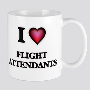 I love Flight Attendants Mugs
