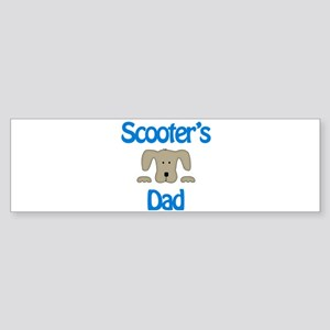 Scooter's Dad Bumper Sticker